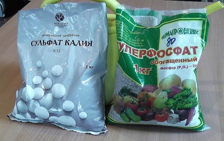 Фосфорно-калийные удобрения